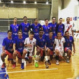 Terceiros colocados no Campeonato Metropolitano na categoria Sub 19, em 2015