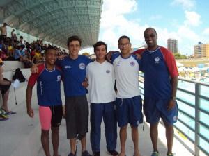 Participação dos atletas no Campeonato Nacional em 2015